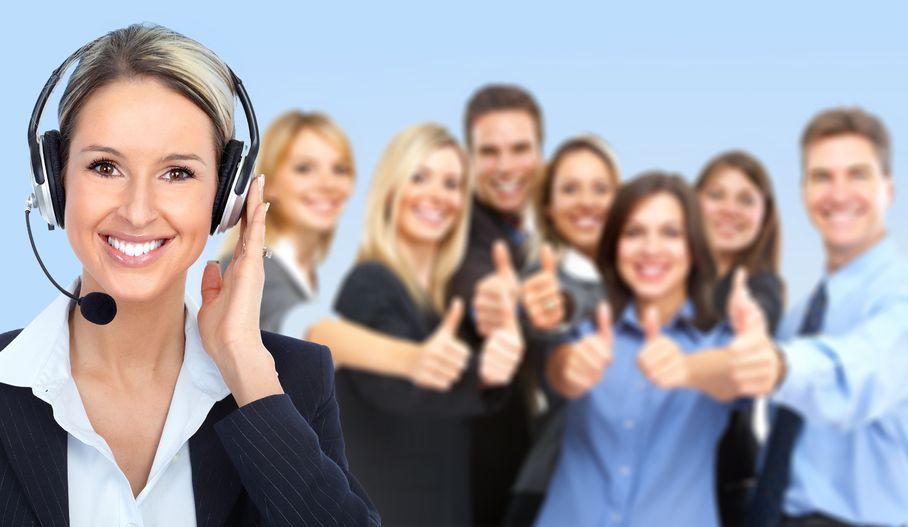 małe call center w firmie